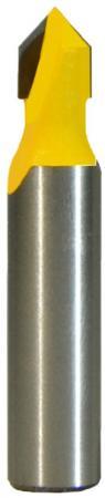 Фреза ЭНКОР 9306 паз галтельная ф6.3мм V-обр 90° хв8мм цена