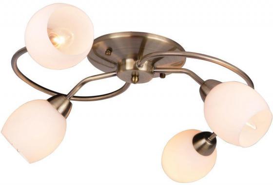 Потолочная люстра Arte Lamp Silvana A4033PL-4AB arte lamp подвесная люстра arte antwerp a1029lm 8 4ab