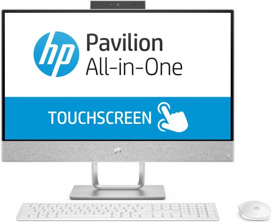 Моноблок 23.8 HP Pavilion 24-x050ur 1920 x 1080 Touch screen Intel Core i5-7400T 4Gb 1Tb + 16 SSD Radeon 530 2048 Мб Windows 10 Home белый 3ES07EA lcd display touch screen digitizer assembly for thl t100s t100 1920 1080 fhd black color free shipping