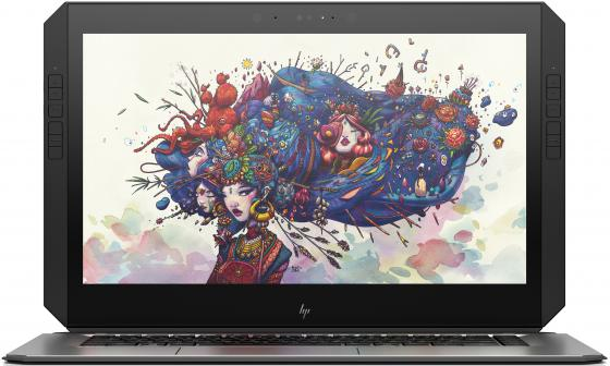 "Ноутбук HP ZBook x2 G4 14"" 3840x2160 Intel Core i7-8550U 256 Gb 8Gb nVidia Quadro М620M 2048 Мб серый Windows 10 Professional 2ZC10EA"