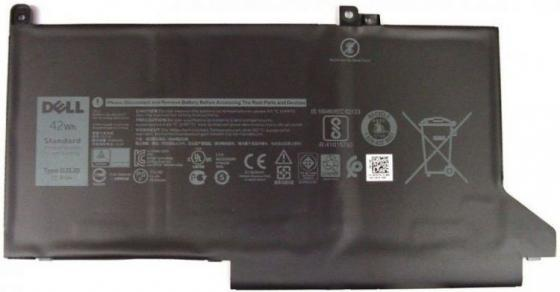 Фото - Аккумуляторная батарея для ноутбуков DELL 3 cell для Dell 7280/7480 451-BBZL аккумуляторная батарея для ноутбуков dell primary 6 cell 65w hr expresscharge capable kit 451 11980