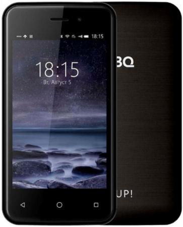 Смартфон BQ BQ-4028 UP! черный 4 8 Гб Wi-Fi GPS 3G смартфон archos 40 power черный 4 8 гб wi fi gps 503174