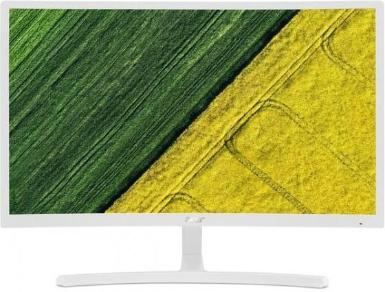 Монитор 24 Acer ED242QRwi белый VA 1920x1080 250 cd/m^2 4 ms VGA HDMI UM.UE2EE.001 монитор 23 6 samsung s24e391hl белый pls 1920x1080 250 cd m^2 4 ms hdmi vga