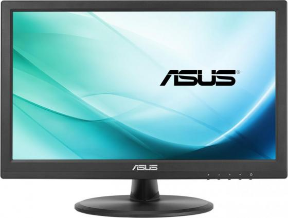 "Монитор 16"" ASUS VT168N черный TN 1366x768 200 cd/m^2 10 ms DVI VGA 90LM02G1-B01170 asus asus be24aqlb 24 1 черный dvi"
