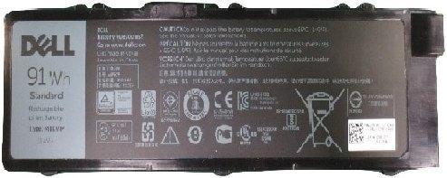 Аккумуляторная батарея для ноутбуков DELL 6 cell для Dell Precision M7510/М7520/М7710/М7720 аккумуляторная батарея для ноутбука dell d500 600m d600 d610 2 5 3