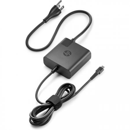 Купить Адаптер питания HP 65W USB-C Power Adapter 1HE08AA