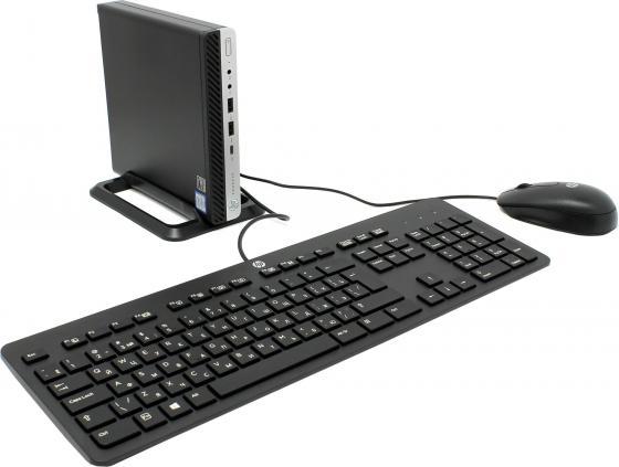 Компьютер HP ProDesk 600G3 Mini Intel Core i5-7500T 4Gb 2Tb Intel HD Graphics 630 Windows 10 Professional черный 2SF61ES неттоп 23 hp prodesk 400 g3 mini 1920 x 1080 intel core i5 7500t 4gb 500gb intel hd graphics 630 windows 10 professional черный 2kl67es