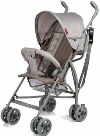 Коляска-трость Baby Care Hola (light grey 18) коляска прогулочная baby care jogger cruze серый 17 grey 17 p6217