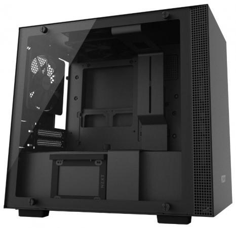 все цены на Корпус mini-ITX NZXT H200i Без БП чёрный CA-H200W-BB онлайн