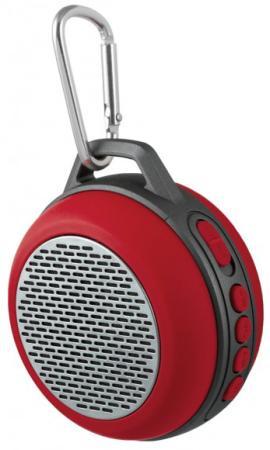 цена на Портативная акустика Perfeo Solo 5Вт Bluetooth красный PF_5206
