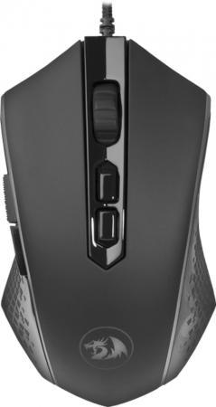 Мышь проводная Defender Memeanlion Chroma чёрный USB 75033