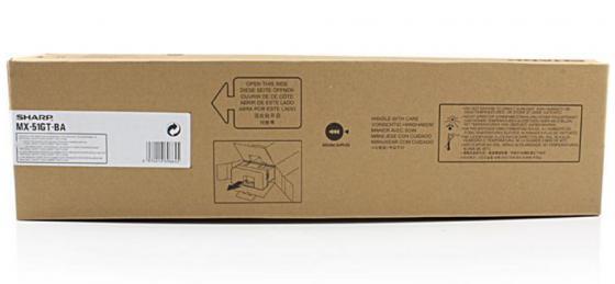 Фото - Тонер-картридж Sharp MX51GTBA черный 40 000 страниц тонер картридж sharp mx235gt
