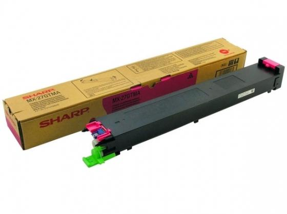 Тонер-картридж Sharp MX27GTMA пурпурный 15 000 страниц sharp sjxp59pgsl