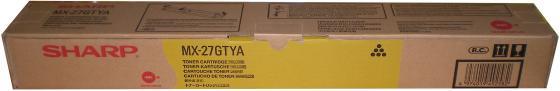 Тонер-картридж Sharp MX27GTYA желтый 15 000 страниц тонер картридж sharp mx27gtba черный 18 000 страниц