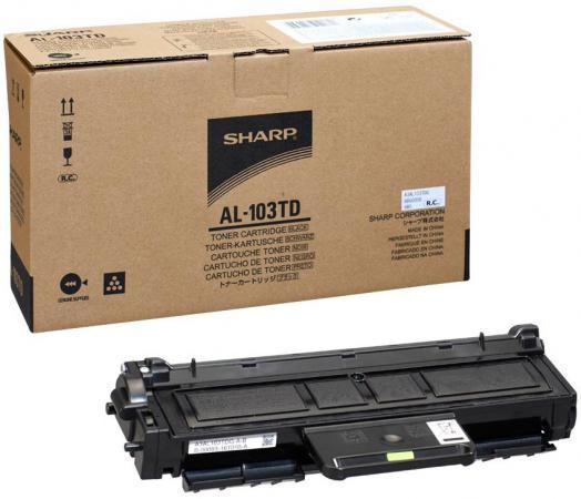 Тонер-картридж Sharp AL103TD 2 000 страниц тонер картридж sharp sharp mx23gtba для mx 1810 2010 2310 3111 черный