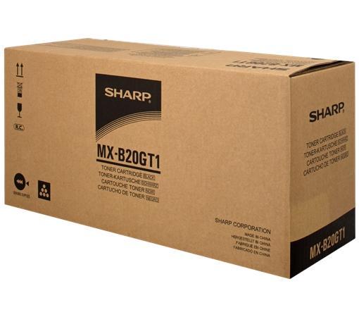 Фото - Тонер-картридж Sharp MXB20GT1 8 000 страниц тонер картридж sharp mx235gt