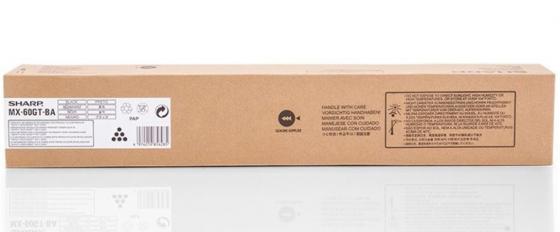 Тонер-картридж Sharp MX60GTBA черный 40 000 страниц тонер картридж sharp mx27gtba черный 18 000 страниц