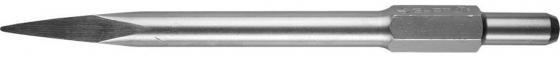 Зубило ЗУБР HEX 30 пикообразное для отбойного молотка шестигранный хвостовик 30мм 410мм 29371-00-410 ручное зубило persian