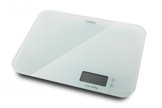 Весы кухонные CASO L 20 белый caso l 20 white кухонные весы