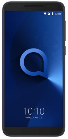 Смартфон Alcatel 3 5052D синий 5.5 16 Гб LTE Wi-Fi GPS 3G (5052D-2BALRU7) смартфон alcatel u5 hd 5047d черный 5 8 гб lte wi fi gps 3g