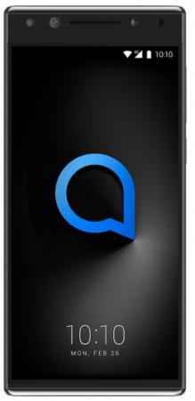 Смартфон Alcatel 5 5086D металлик черный 5.7 32 Гб LTE Wi-Fi GPS 3G 5086D-2AALRU7 смартфон meizu m5 note серебристый 5 5 32 гб lte wi fi gps 3g