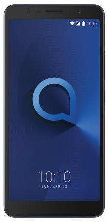 Смартфон Alcatel 3C 5026D металлик синий 6 16 Гб Wi-Fi GPS 3G 5026D-2BALRU1 интернет центр alcatel link hub hh70 белый [hh70vh 2balru1 1]