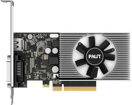 Видеокарта Palit GeForce GT 1030 NEC103000646-1082F PCI-E 2048Mb 64 Bit OEM pci e to