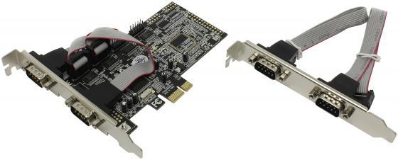 Контроллер PCI-E ST-Lab I-343 4xCOM9M
