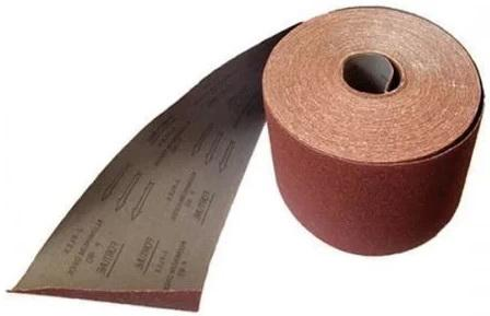 Лист шлифовальный ABRAFORCE 500025119 коричневая 100мм*3м P180