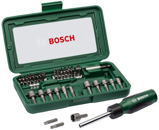 Набор инструментов Bosch 46 предметов 2607019504