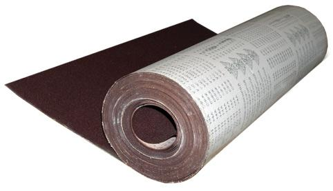 Шкурка шлифовальная № 50 (775) 1 рулон 30м/п шкурка шлифовальная в рулоне белгород n4 p320 рулон 775мм 30м