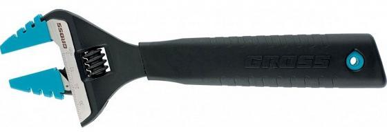 Фото - Ключ разводной GROSS 15569 (0 - 30 мм) 250мм ключ разводной gross 140мм 32мм укороченная ручка