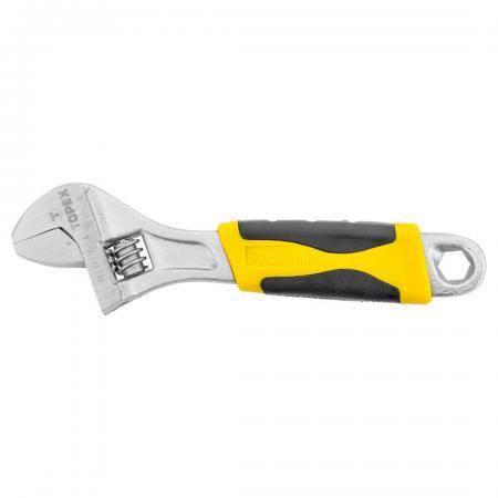 Ключ разводной TOPEX 35D124 (0 - 35 мм) 300мм ключ трещотка topex 38d540 1 2 250 мм
