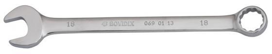 Ключ комбинированный BOVIDIX 0690113 (18 мм) 220 мм ключ воротка станкоимпорт cs 34 51 18