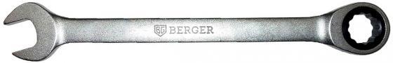 Ключ BERGER BG1096 трещоточный 8мм ключ трещоточный комбинированный berger 11 мм bg1098
