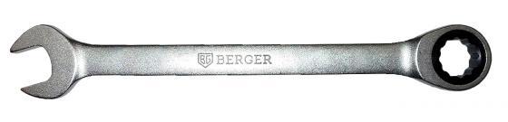 цена на Ключ BERGER BG1105 трещоточный 19мм