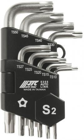 Набор ключей JTC 5355 торкс Г-образных Т10-Т50 9пр. набор г образных ключей torx t10н т50h 9шт jtc 3924