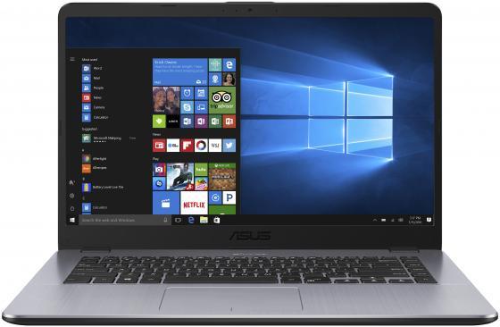 """все цены на Ноутбук ASUS VivoBook 15 X505BA-EJ151 15.6"""" 1920x1080 AMD E-E2-9000 500 Gb 4Gb AMD Radeon R2 серый Endless OS 90NB0G12-M02540 онлайн"""