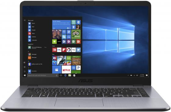 "Ноутбук ASUS VivoBook 15 X505BA-EJ151 15.6"" 1920x1080 AMD E-E2-9000 500 Gb 4Gb AMD Radeon R2 серый Endless OS 90NB0G12-M02540"