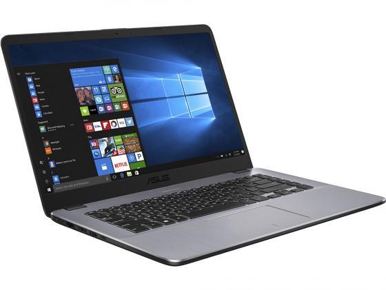 """все цены на Ноутбук ASUS X505BA-EJ151T 15.6"""" 1920x1080 AMD E-E2-9000 500 Gb 4Gb AMD Radeon R2 серый Windows 10 Home 90NB0G12-M02530 онлайн"""