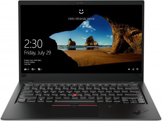 "цены Ноутбук Lenovo ThinkPad X1 Carbon Gen6 14"" 1920x1080 Intel Core i5-8250U 256 Gb 8Gb Intel UHD Graphics 620 черный Windows 10 Professional 20KH0035RT"
