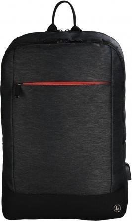 Рюкзак для ноутбука 15.6 HAMA Manchester полиэстер черный 00101825 рюкзак для ноутбука 15 6 hama manchester полиэстер черный 00101825