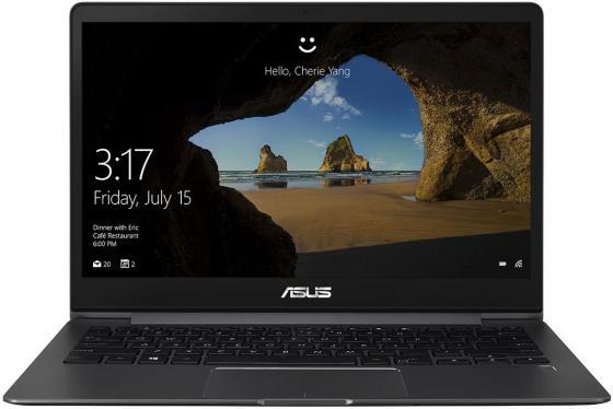 Ноутбук ASUS Zenbook 13 UX331UA-EG063T 13.3 1920x1080 Intel Core i3-7100U 128 Gb 8Gb Intel HD Graphics 620 серый Windows 10 Home (90NB0GZ2-M02290) ноутбук asus zenbook ux331ua eg001r 13 3 1920x1080 intel core i5 8250u 90nb0gy2 m01730