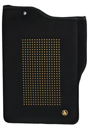 """Чехол Hama универсальный для планшетов с экраном 10.5"""" неопрен черный золотистый 00182358"""