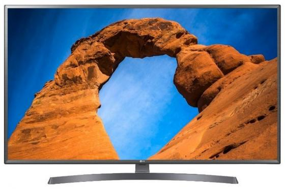 Телевизор 43 LG 43LK6200PLD серый черный 1920x1080 50 Гц Wi-Fi Smart TV RJ-45 Bluetooth S/PDIF