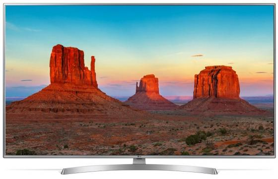 Телевизор 43 LG 43UK6510PLB серебристый 3840x2160 50 Гц Wi-Fi Smart TV RJ-45 телевизор 50 lg 50uk6710 4k uhd 3840x2160 smart tv usb hdmi bluetooth wi fi серебристый