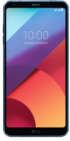 Смартфон LG Q6 синий 5.5 64 Гб NFC LTE Wi-Fi GPS 3G LGH870DS.ACISUN смартфон nokia 7 plus черный 6 64 гб nfc lte wi fi gps 3g