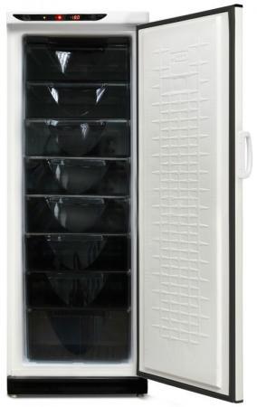 Морозильный ларь 175 белый черный