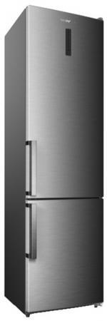 Холодильник SHIVAKI BMR-2013DNFX серебристый холодильник shivaki bmr 2013dnfw двухкамерный белый
