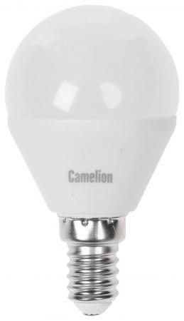 Лампа светодиодная CAMELION LED7.5-G45/830/E14 электрическая 7.5Вт 220В лампа светодиодная camelion led5 g45 830 e27 5вт 220в е27 3000к